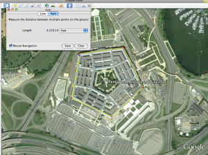 Google Earth: Pentagon